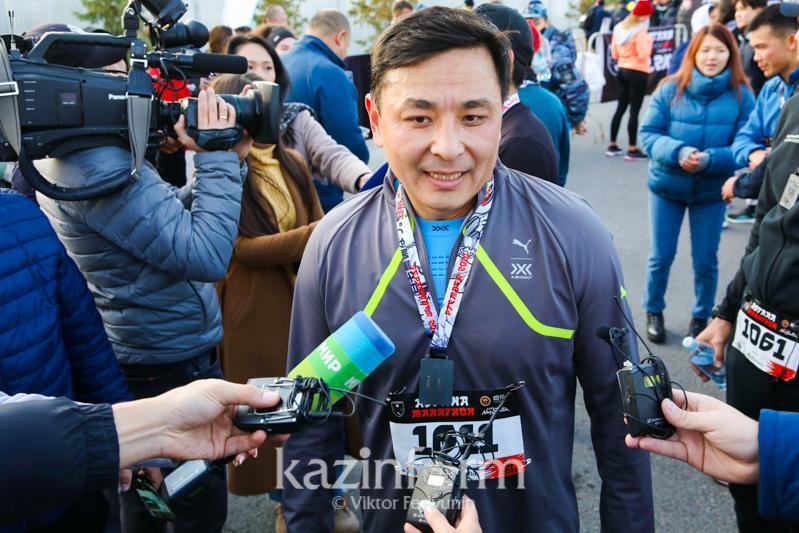 Каждый участник - победитель - Алтай Кульгинов об Astana Marathon 2021