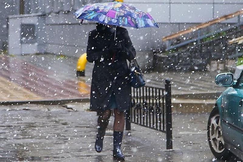 Дождь со снегом прогнозируют в четырех регионах Казахстана