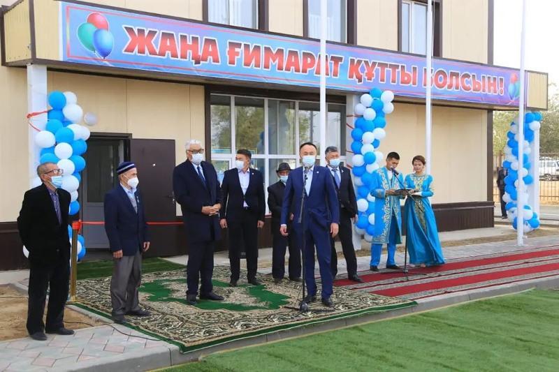 Новый спортивный комплекс открыли в Торгае