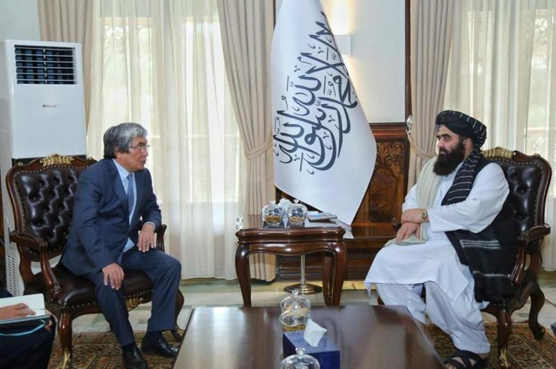 Kazakh ambassador, acting Afghan FM discuss provision of humanitarian assistance to Afghan people