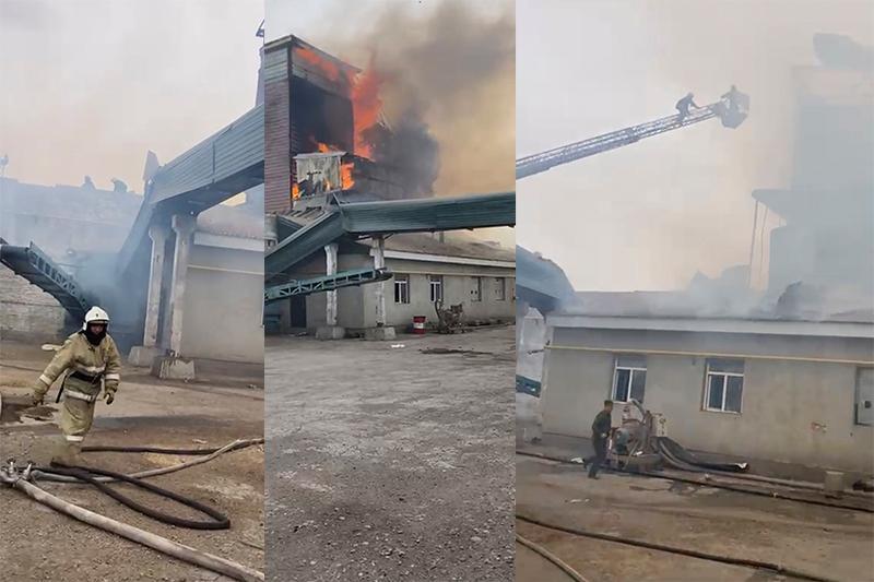 Мельница горела в Костанае