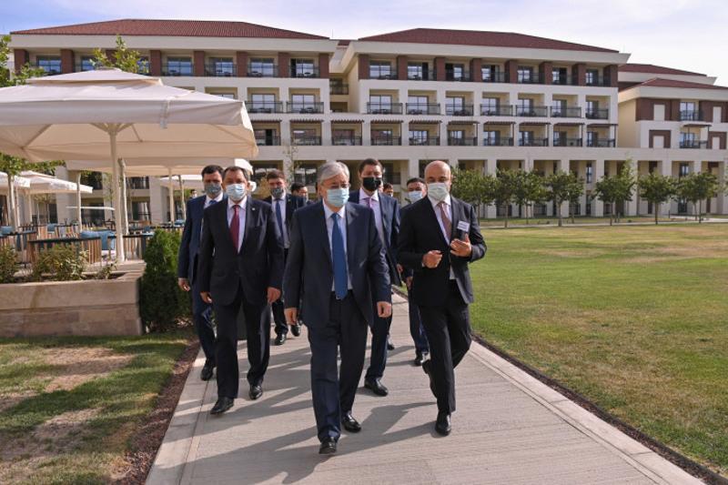 Video recap of Kazakh President's working week released