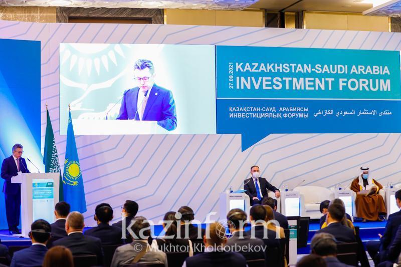 Kazakhstan-Saudi Arabia Investment Forum kicks off in Nur-Sultan