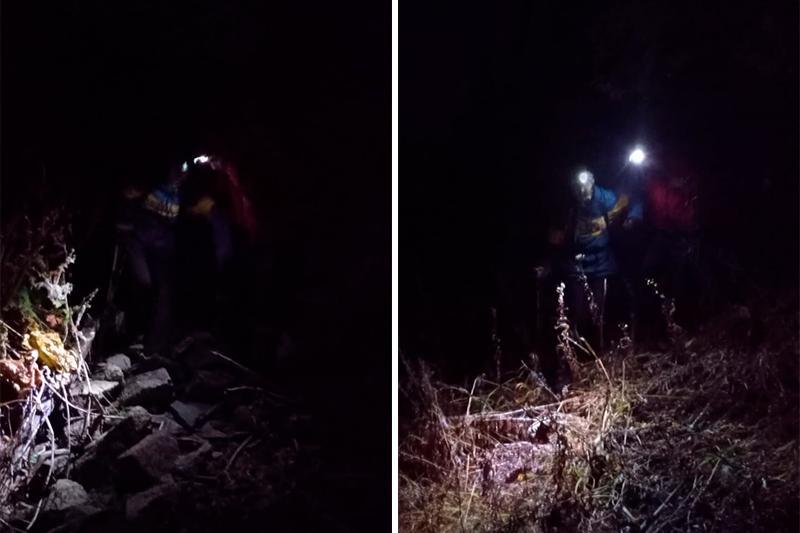 Спасатели помогли заблудившейся в горах девушке в Алматы
