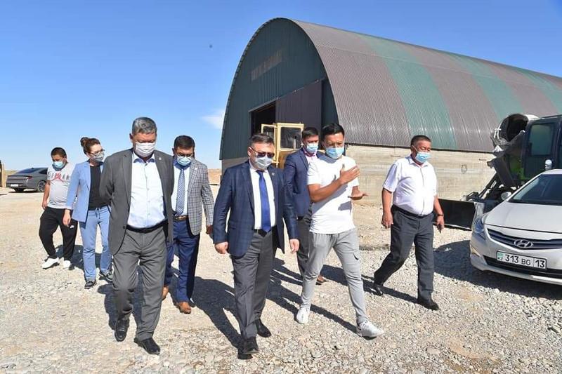 В Сайраме откроется откормочная площадка для крупного рогатого скота