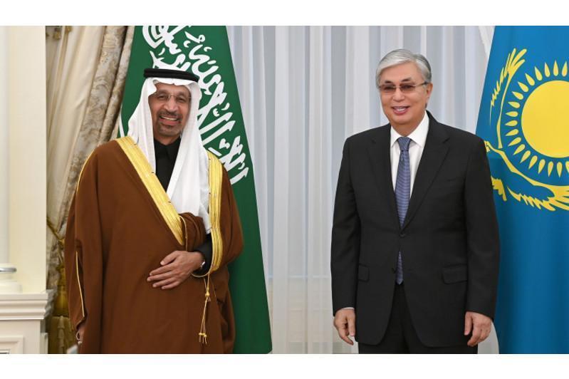 Қозоғистон Президенти Саудия Aрабистони Инвестициялар вазирини қабул қилди