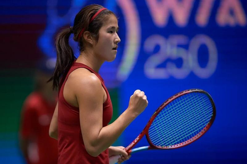 Стартовали матчи первого круга турнира Astana Open WTA 250