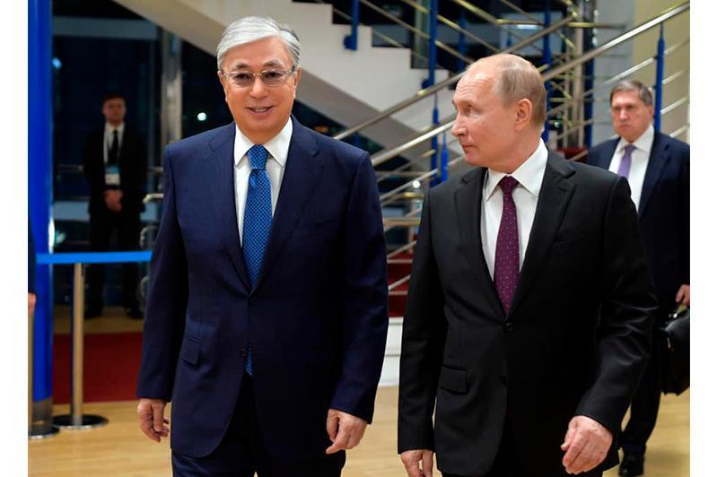 两国总统将以线上形式出席哈俄地区间合作论坛