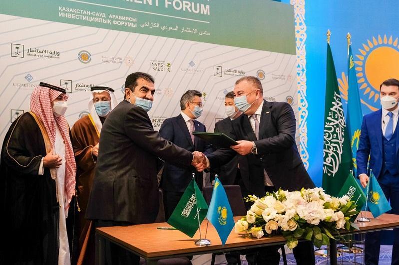 Меморандум о сотрудничестве подписали представители Казахстана и Саудовской Аравии