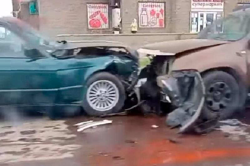 В столице в ДТП пострадали пять автомашин