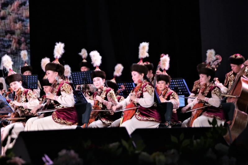 Состоялось открытие концертного сезона Казахского оркестра городской филармонии