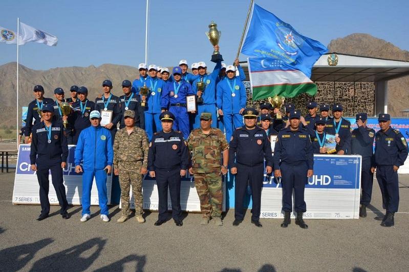 Завершены международные соревнования по спасательному многоборью «Казспас-2021»