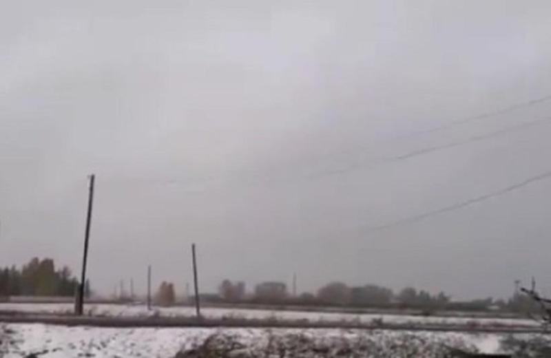 Первый снегвыпалв Северо-Казахстанской области