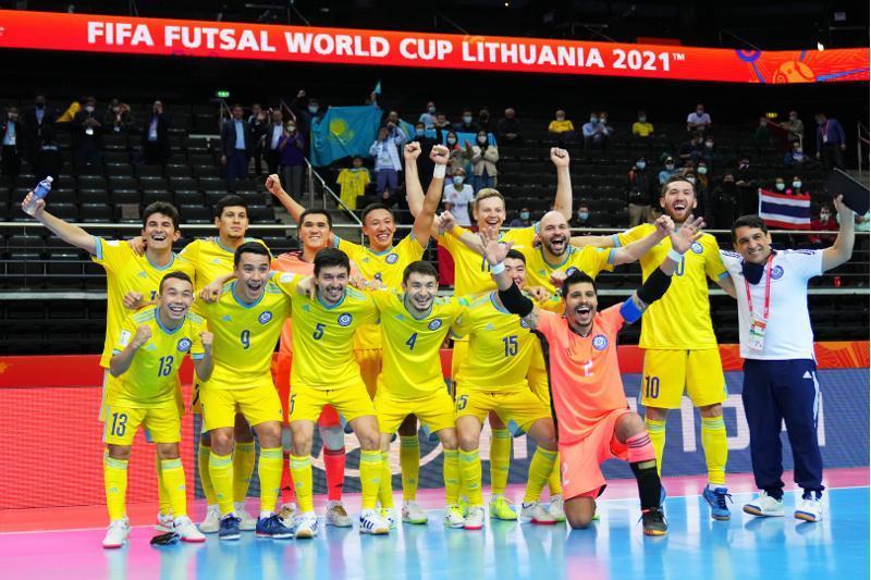 President congratulates Kazakh futsal team on making history, reaching FIFA World Cup semis