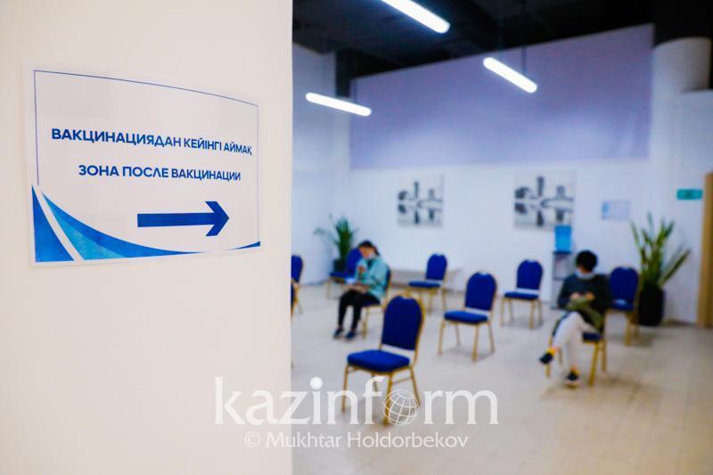 Более шести миллионов казахстанцев привиты вторым компонентом вакцины от КВИ