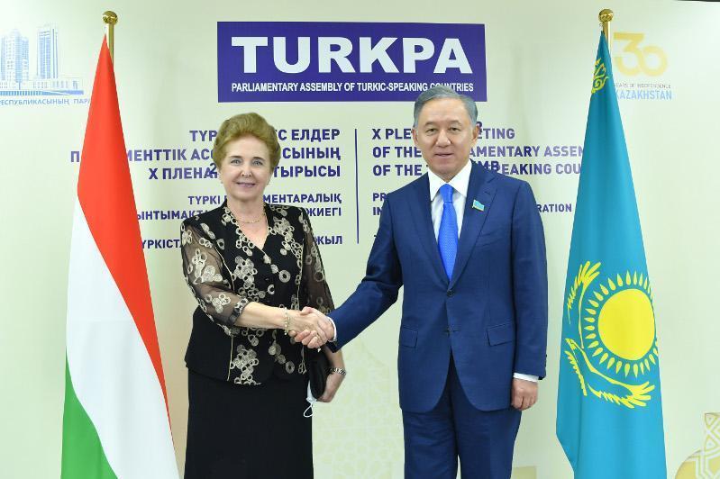 下院议长在TURKPA框架下举行一系列会晤