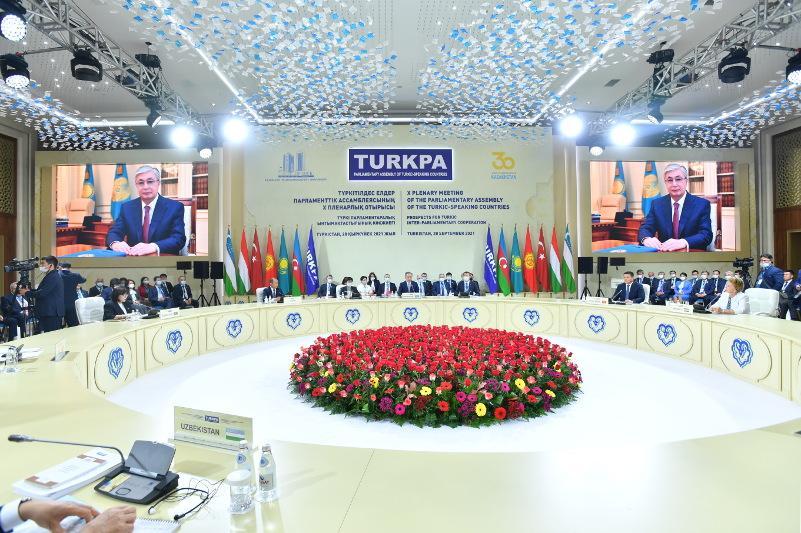 Глава государства отметил роль ТюркПА в укреплении единства братских стран