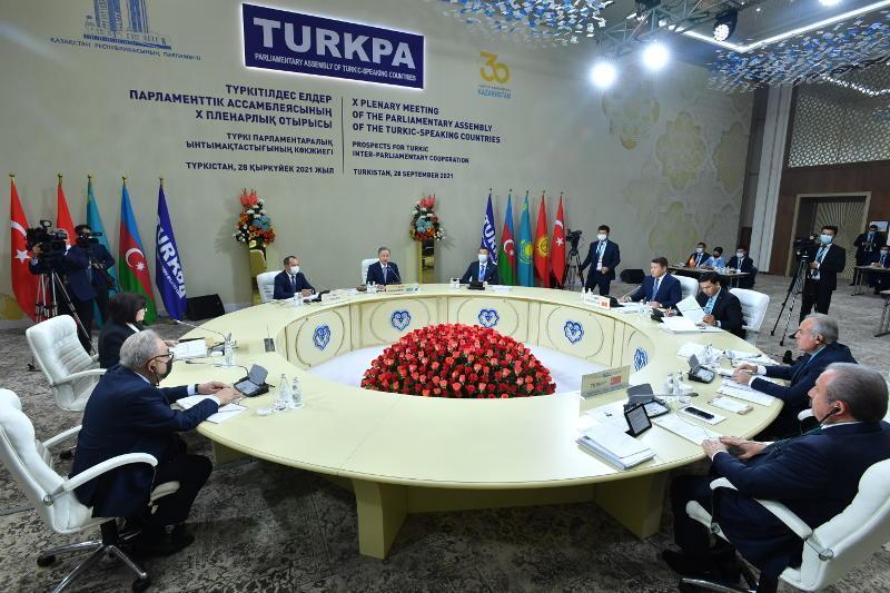 哈萨克斯坦接任突厥语国家议会大会主席国