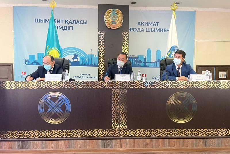 Прошла встреча руководителей структур АНК с председателями этнокультурных объединений Шымкента