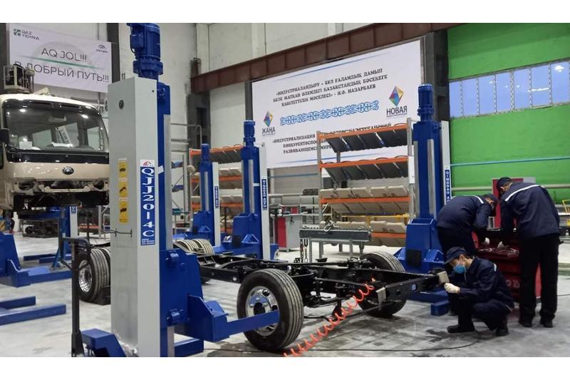 Производство промышленной продукции выросло в пять раз в Карагандинской области