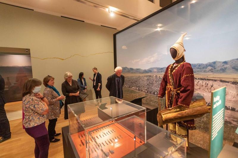 Экспозиция археологов из ВКО «Золото Великой степи» покорила британцев