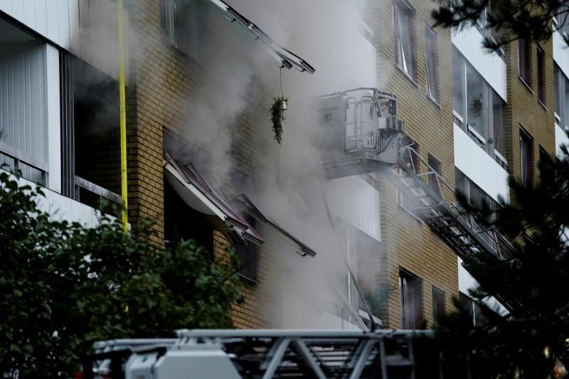 瑞典一居民楼发生爆炸多人受伤