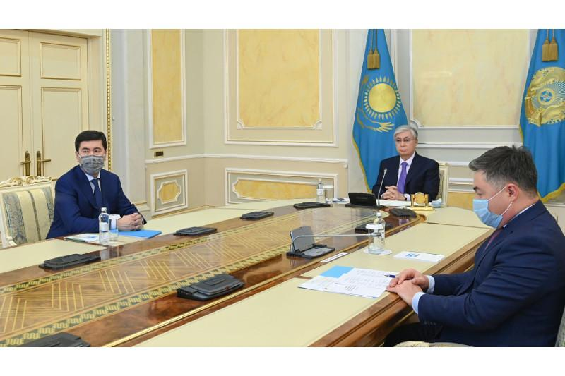 Kazakh Head of State takes part in 8th Congress of Atameken NCE