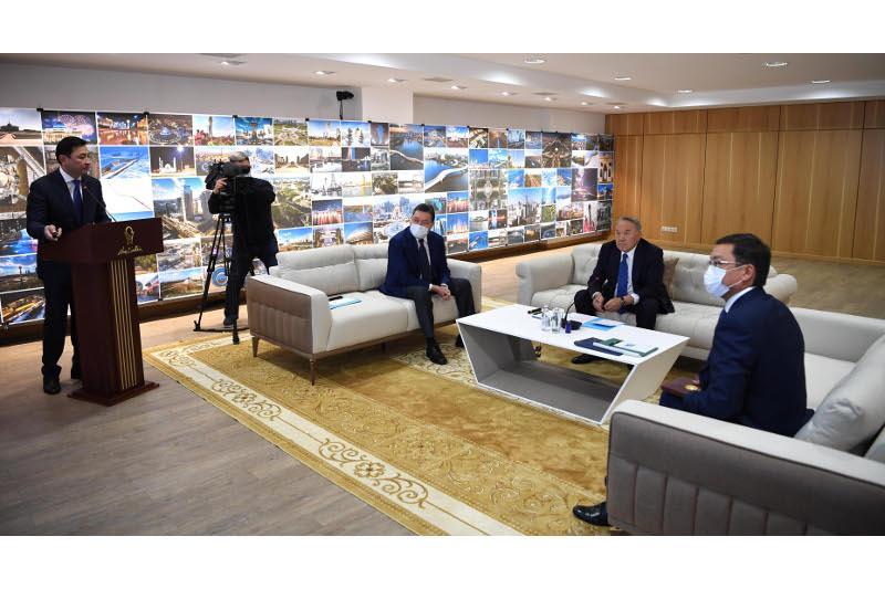 Елбасы посетил научно-исследовательский проектный институт «Астанагенплан»