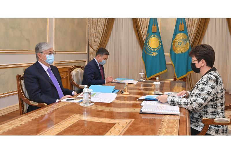 ҚР Президенти Ҳисоб қўмитаси раҳбарини қабул қилди
