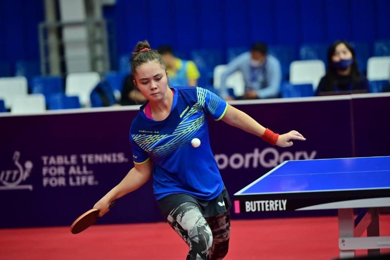 Казахстанцы вышли в основную сетку ЧА по настольному теннису в Катаре