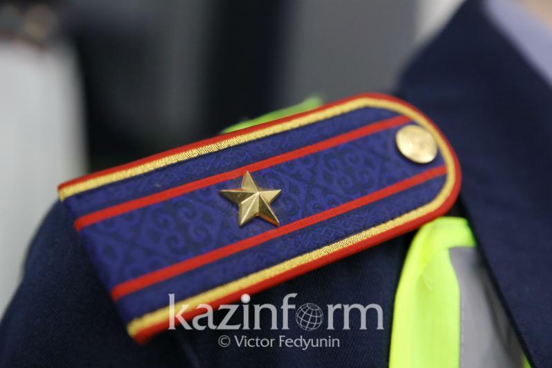 Плотность нарядов патрульной полиции увеличили на дорогах Жамбылской области