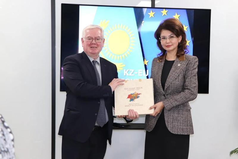 Balayeva meets with EU special human rights rep Eamon Gilmore