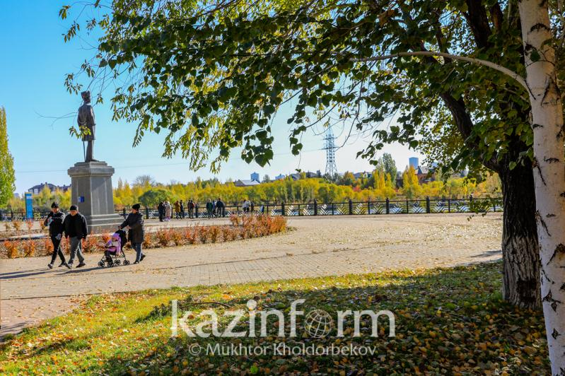 Потепление ожидается в Казахстане 14 – 16 октября