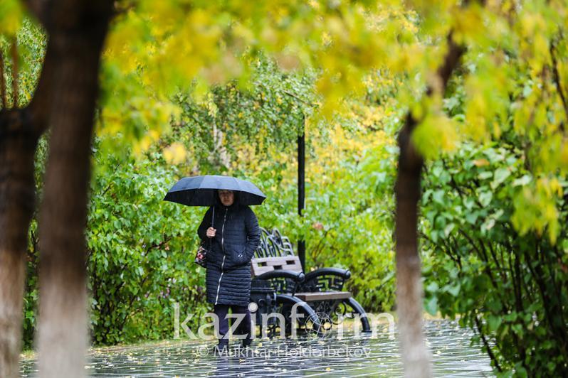 Weather forecast for Kazakhstan Oct 14