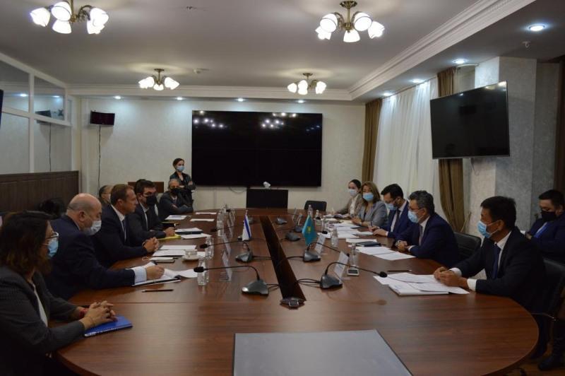 Казахстан предложил Израилю перечень потенциальных товаров на сумму $320,58 млн