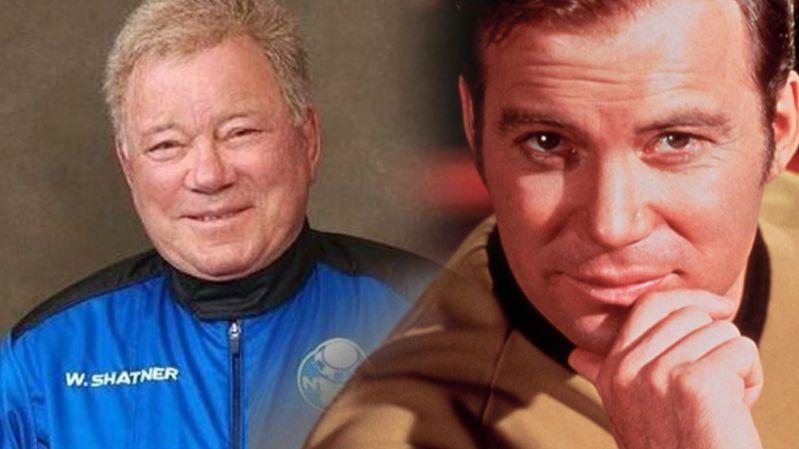 90-летний актер из сериала «Звездный путь» слетал в космос