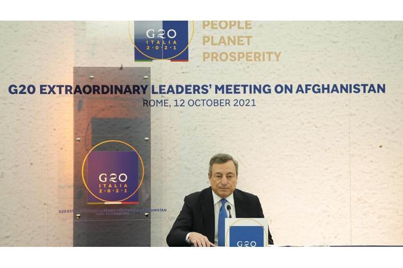 Лидеры G20 пообещали предотвратить экономическую катастрофу в Афганистане