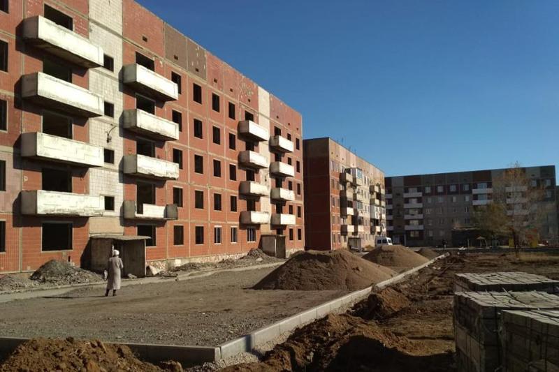 Заброшенные пятиэтажки восстанавливают в Карагандинской области