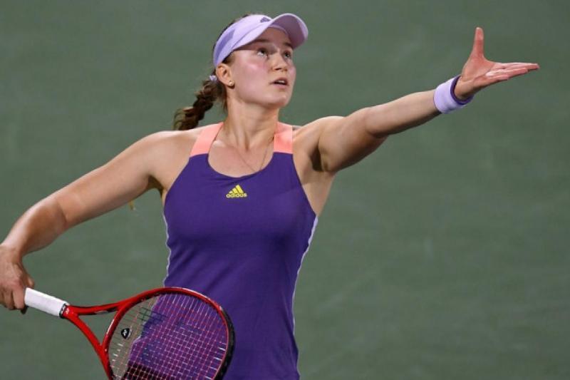 Елена Рыбакина вышла в полуфинал парного турнира в Индиан-Уэллс
