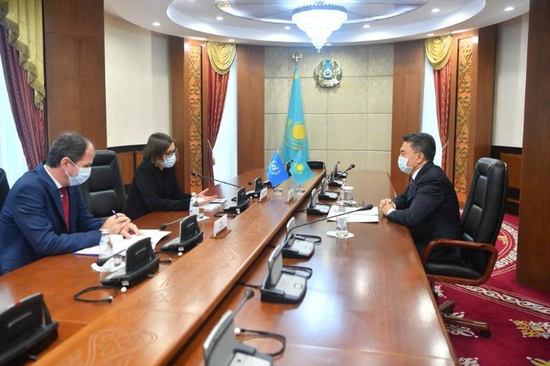 В Сенате состоялась встреча с помощником Генсека ООН