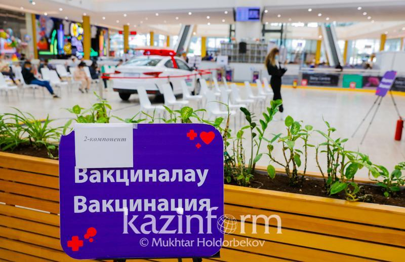 7mln Kazakhstanis fully vaccinated against COVID-19