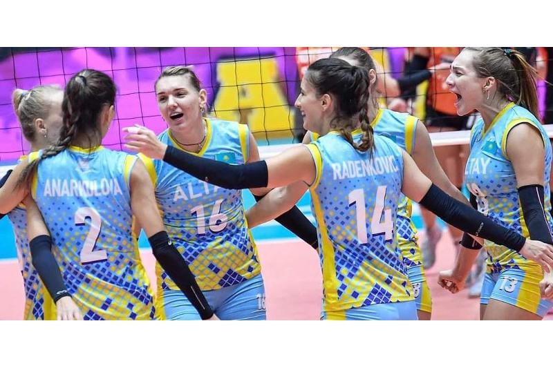 Altai club to represent Kazakhstan at 2021 Asian Women's Club Volleyball World Championship