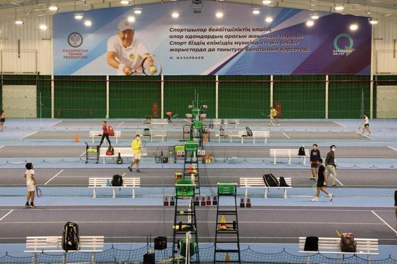 Международный турнир по большому теннису пройдёт впервые в Караганде