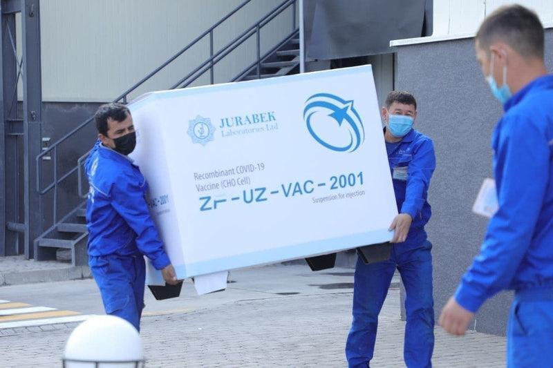 Выпуск китайско-узбекской вакцины от коронавируса наладили в Узбекистане