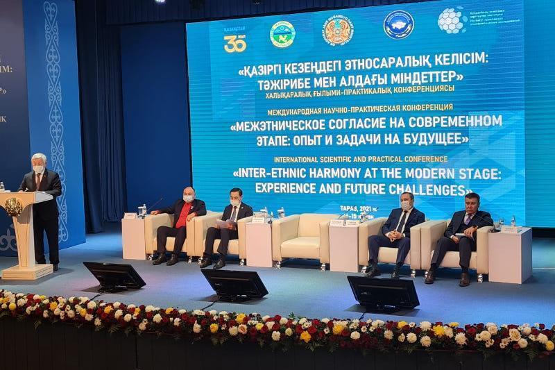 """""""现阶段民族和谐:经验与未来任务""""国际会议在塔拉兹开幕 总统致贺信"""