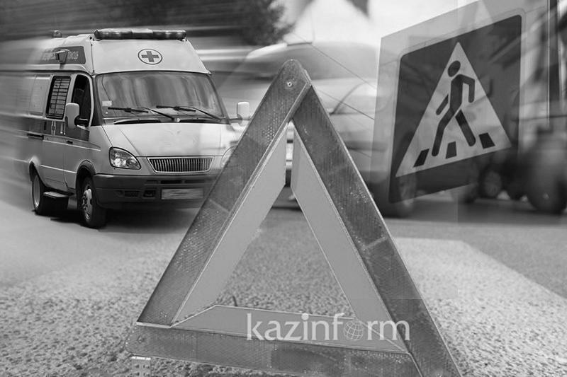 Алматы облысында жүк көлігі қағып, мерт болған ер адамның кім екені белгісіз
