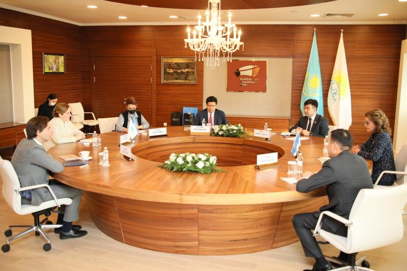 Дарига Назарбаева встретилась с представителями Генерального секретаря ООН