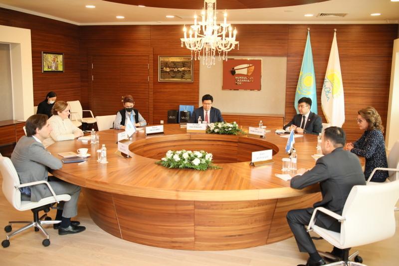 Дариға Назарбаева БҰҰ өкілдерімен кездесті