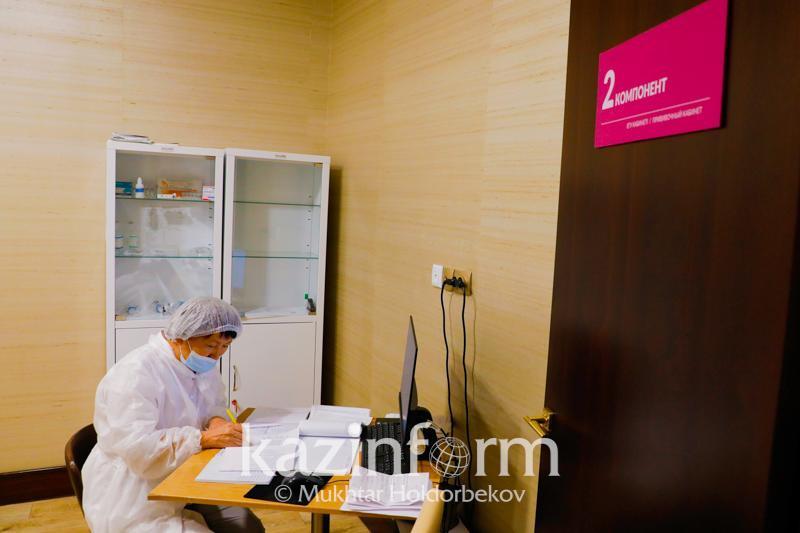 Атырау облысында вакцинаның екі компонентін алғандар 202 мыңнан асты