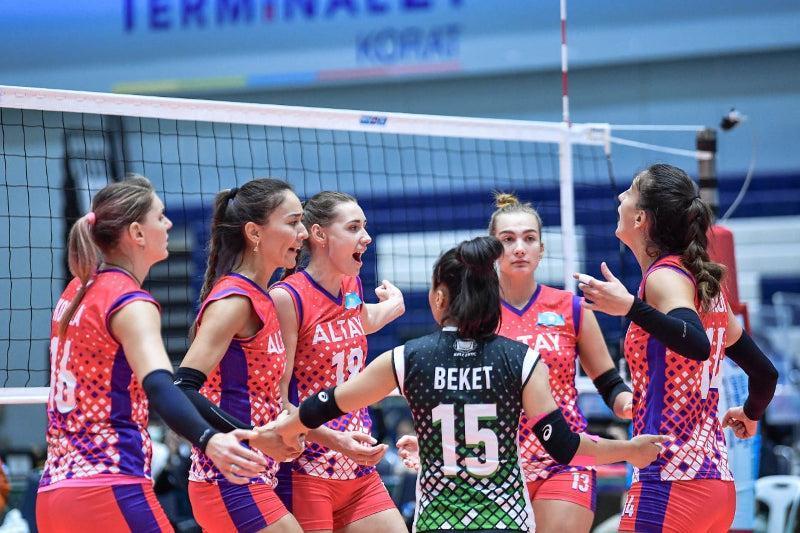 «Алтай» волейболшыларына халықаралық дәрежедегі спорт шебері атағы беріледі